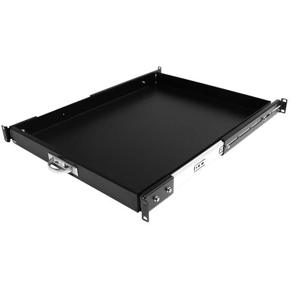 StarTech 22in Black Deep Sliding Server Rack Cabinet Shelf (SLIDESHELFD) - V&L Canada