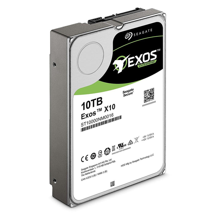 "Seagate Enterprise 10 TB 3.5"" 10000GB Serial ATA III internal hard drive - ST10000NM0016 - V&L Canada"