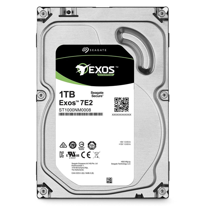 Seagate Enterprise Capacity 3.5'' HDD 1TB 7200 RPM 512n SATA 6Gb/s 128MB Cache Internal Hard Drive - V&L Canada