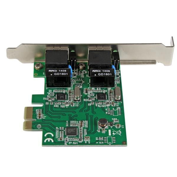 StarTech Network  Dual Port Gigabit PCI-Express Server Network Adapter Card NIC Retail (ST1000SPEXD4) - V&L Canada
