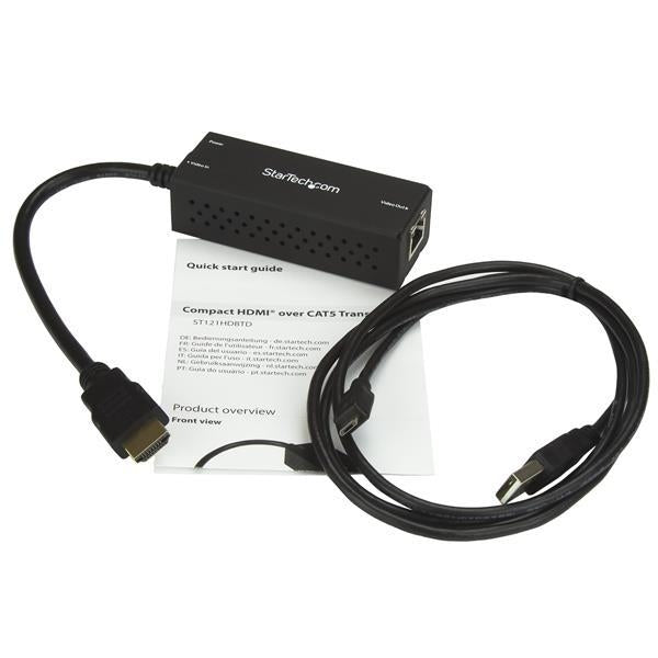 StarTec Accessory  HDMI over CAT5 HDBaseT with USB Powered Retail (ST121HDBTD) - V&L Canada