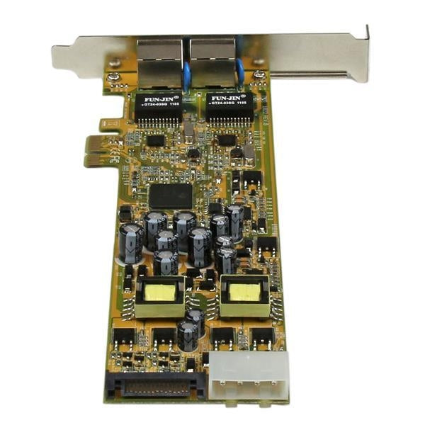 StarTech Network  2Port Gigabit Ethernet PCI Express Network Card Adapter Retail (ST2000PEXPSE) - V&L Canada