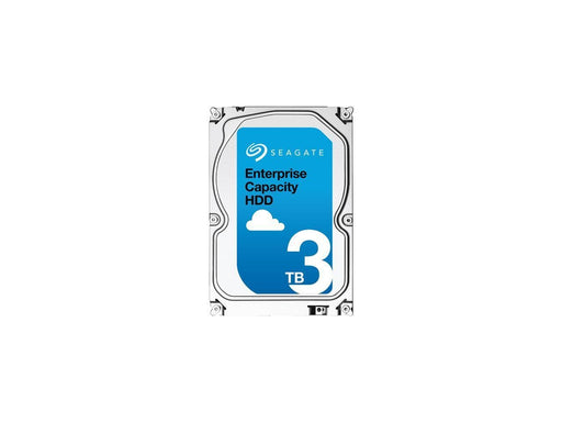 Seagate Enterprise Capacity 3.5'' HDD 3TB 7200 RPM 512n SATA 6Gb/s 128MB Cache Internal Hard Drive - V&L Canada