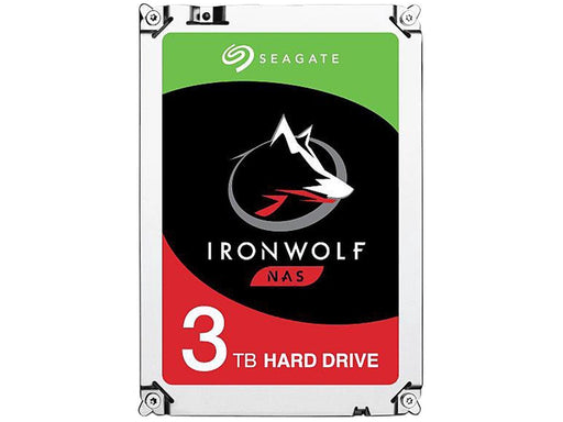 "Seagate IronWolf 3TB NAS Hard Drive 5900 RPM 64MB Cache SATA 6.0Gb/s 3.5"" Internal Hard Drive - V&L Canada"