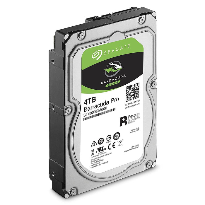 "SEAGATE ST4000DM006 4TB Barracuda Pro 7200 rpm SATA 6GB/S 128MB Cache 3.5"" Internal Hard - V&L Canada"