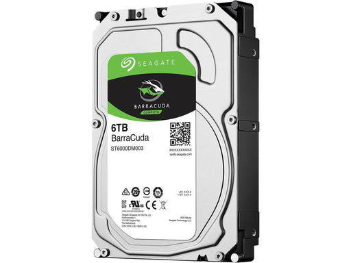 "Seagate BarraCuda S 6TB 256MB Cache SATA 6.0Gb/s 3.5"" Internal Hard Drive (T6000DM003) (ST6000DM003) - V&L Canada"