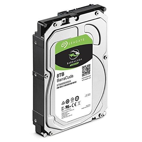 Seagate Bare Drives 8TB Barracuda Sata 6GB/S 256MB Cache 3.5-INCH Internal Hard Drive 3.5 Internal BARE/OEM Drive (ST8000DM004) - V&L Canada