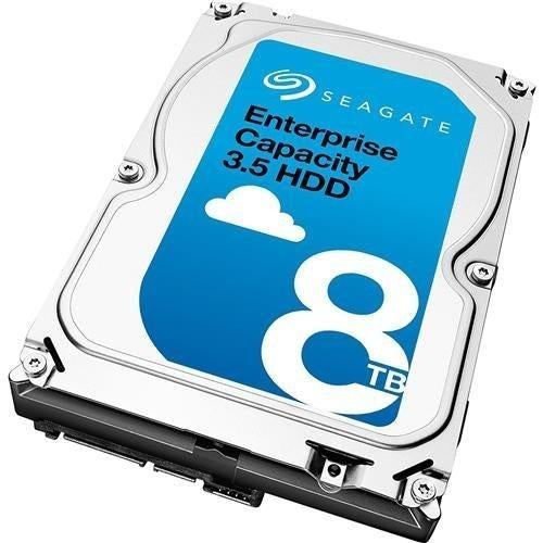 Seagate ST8000NM0075 8TB SAS 12Gb s Enterprise HDD 7200RPM 256MB Brown Box