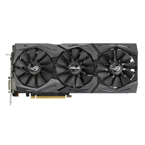 Asus Video Card STRIX-GTX1070-8G-GAMING Geforce GTX 1070 8GB GDDR5 256Bit PCI Express DL-DVI-D/HDMI/DisplayPort Retail - V&L Canada