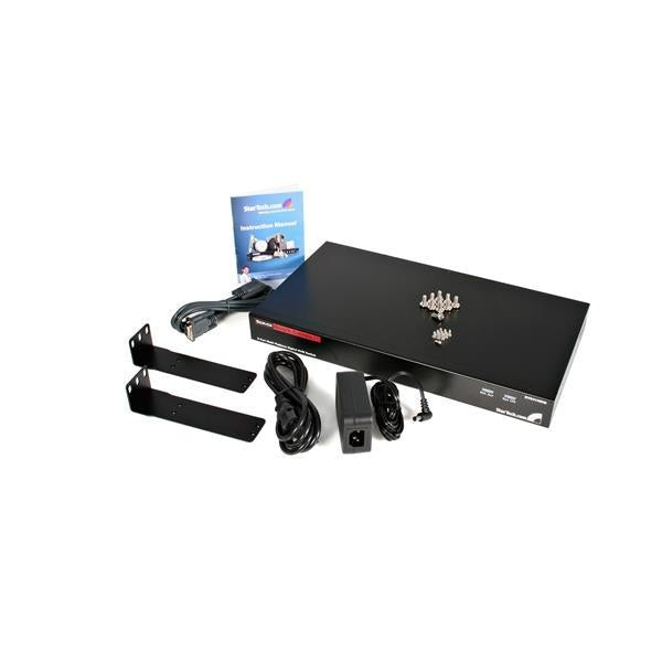 StarTech 8 Port Rackmount USB PS/2 Digital IP KVM Switch (SV841HDIE) - V&L Canada