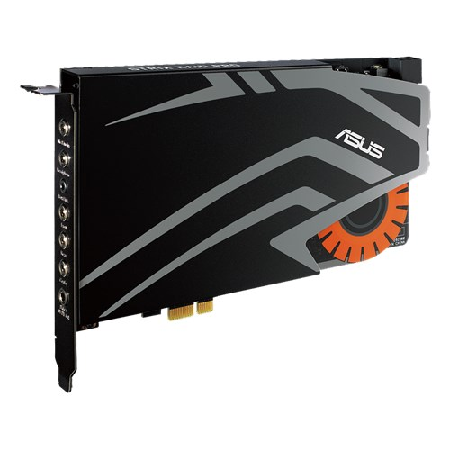 Asus Sound Card STRIX RAID PRO 8 Channel 116dB with audiophile-grade DAC Retail - V&L Canada