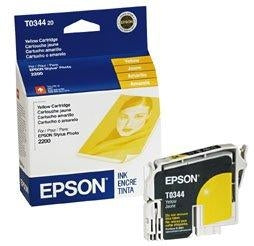 Epson Ink Cartridge - Yellow - 440 Pages - Stylus Photo 2200 (T034420)