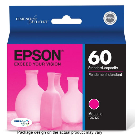 3 Pack Epson 60 Magenta Ink Cartridge T060320 (T060320-SK2)