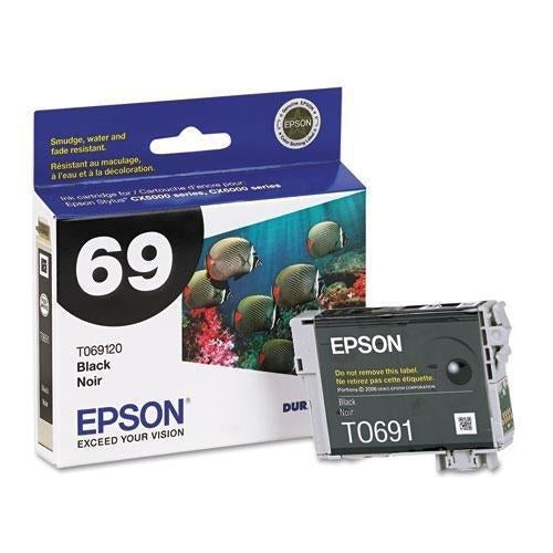 Epson 4-Pack 69 BLACK INK CARTRIDGE SUB PACK 4 (T069120-S-K1)