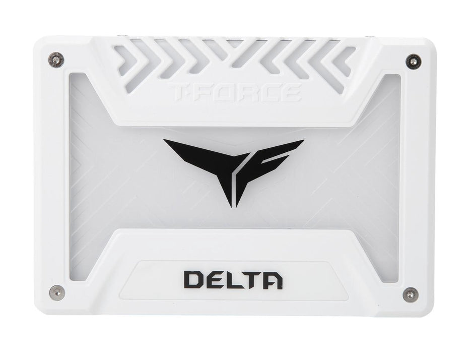 "Team Group T-FORCE DELTA RGB SSD 2.5"" 250GB SATA III Internal RGB Solid State Drive (For MB with 5V ADD Header) (T253TR250G3C413)"