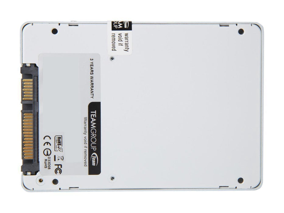 "Team Group T-FORCE DELTA RGB 500GB SSD 2.5"" SATA III Internal RGB Solid State Drive (For MB with 5V ADD Header) (T253TR500G3C413)"