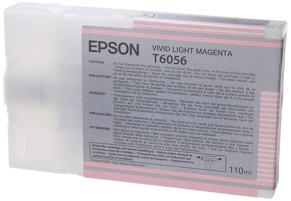 Epson UltraChrome K3 Inks for Epson Stylus Pro 4800 - Light Magenta 110ml (T605C00)