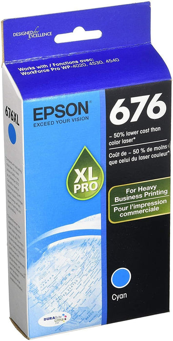 Epson T676XL220-S Cyan ink cartridge