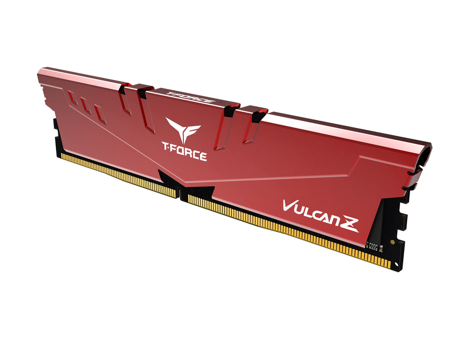 Team T-FORCE VULCAN Z 16GB (2 x 8GB) 288-Pin DDR4 SDRAM DDR4 3000 (PC4 24000) Desktop Memory Model(TLZRD416G3000HC16CDC01 )
