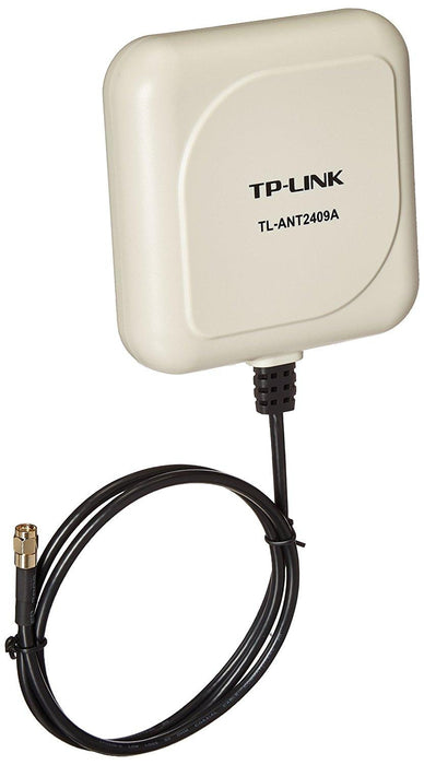 TP-Link TL-ANT2409A 2.4GHz 9dBi Directional Antenna,802.11n/b/g, RP-SMA Male connector, 1m/3ft cable - V&L Canada