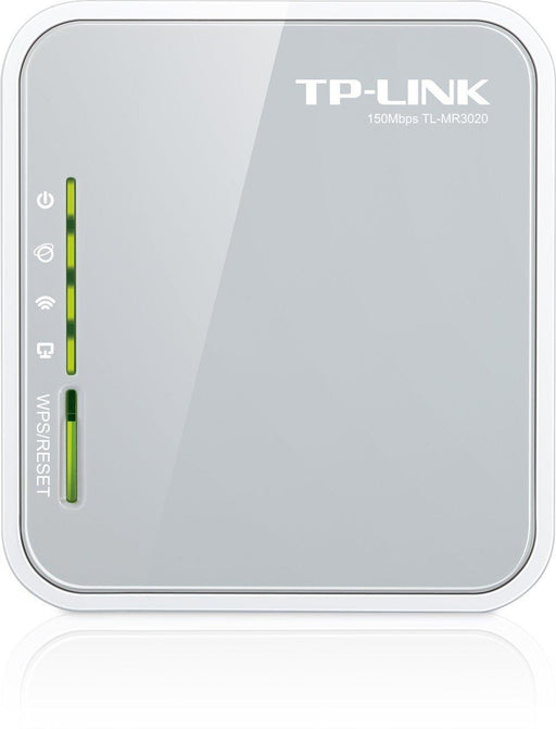 TP-Link TL-MR3020 3G/4G Wireless N150 Portable Router, AP/WISP/Router Mode, USB port, IP QoS, WPS Button - V&L Canada