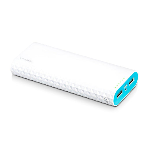 TP-Link 15600mAh High Capacity Portable Battery Charger - LG Battery, 3A Fast Charge with Smart Charging, Dual Ports Power Bank - TL-PB15600