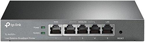 Load Balance Broadband Router W/3 Changeable WAN/LAN ports, Limited Lifetime War (TL-R470T+)