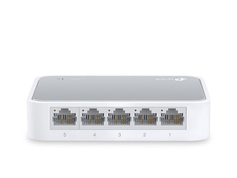 TP-LINK TL-SF1005D Unmanaged network switch White network switch - V&L Canada