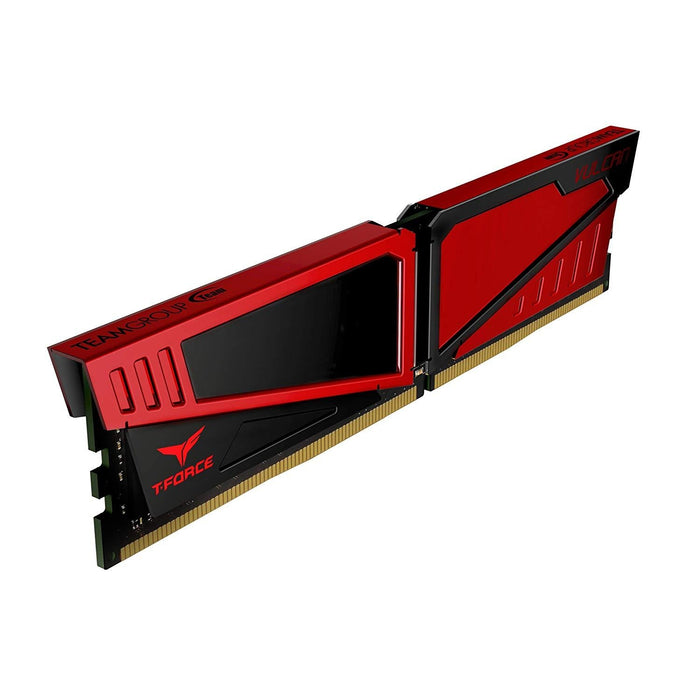 TEAMGROUP T-Force Vulcan DDR4 16GB (2x8GB) 2666MHz (PC4-21300) CL15 Desktop Memory Module ram - Red (TLRED416G2666HC15BDC01)