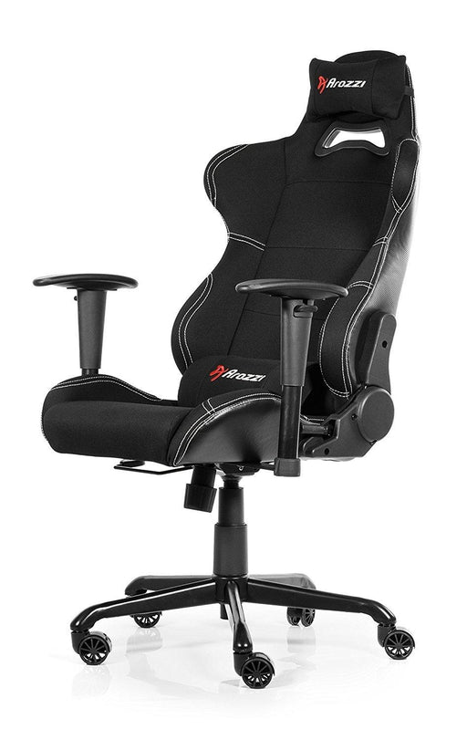 Arozzi Torretta Series Gaming Racing Style Swivel Chair, Black (TORRETTA-BK) - V&L Canada