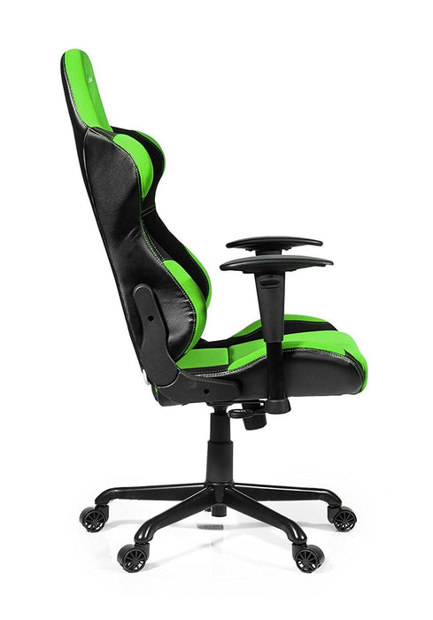 Arozzi Torretta XL Series Gaming Racing Style Swivel Chair, Green (TORRETTA-GN) - V&L Canada