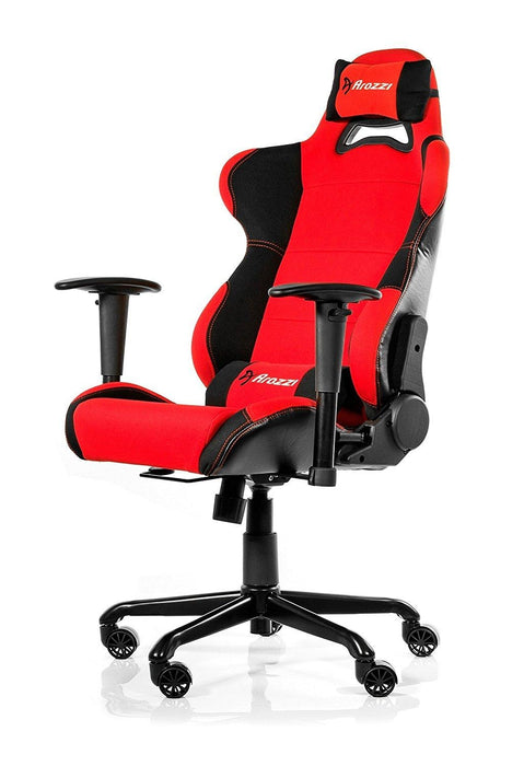 Arozzi Torretta Series Gaming Racing Style Swivel Chair, Red (TORRETTA-RD) - V&L Canada