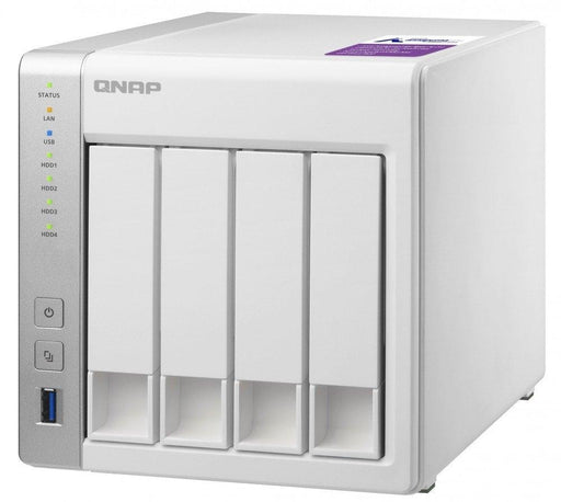 QNAP 4bay  NAS TS-431P-US ARM Cortex A15 Dual Core 1GB DDR3 SATA USB3.0 HDD Hot-Swap (Diskless) - V&L Canada