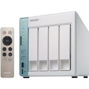"QNAP TS-451A-4G 4-Bay NAS Server - Intel Celeron N3060  1.6GHz, 4GB RAM, 2x Gigabit LAN port, 3x USB 3.0, HDMI (Max Res. 3840x2160 at 30Hz), 4x 3.5""/2.5 SATA 6Gb/s - TS-451A-4G-US - V&L Canada"