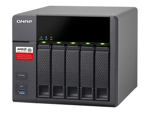 QNAP TS-563 NAS Tower Ethernet LAN Black (TS-563-2G-US) - V&L Canada