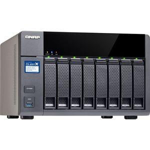 "QNAP TS-831X 8-Bay NAS Server Enclosure - 8x 2.5""/3.5"" SATA III Drive Bays, 4GB DDR3 RAM, Annapurna Labs Alpine AL-314 quad-core 1.7 GHz Cortex-A15 CPU, 2x 10GbE and 2x GbE Ports - TS-831X-4G-US - V&L Canada"