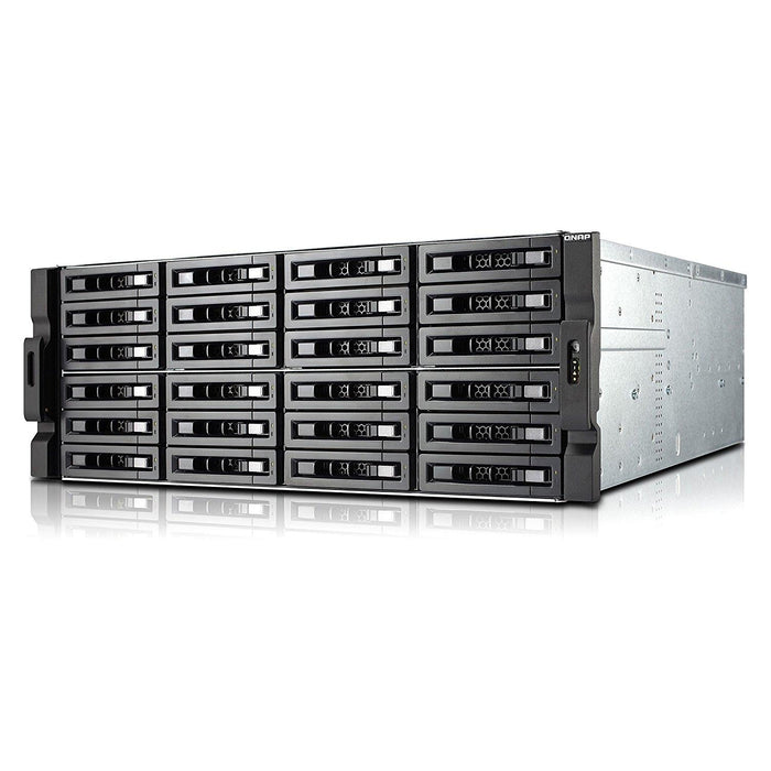 QNAP Network Attached Storage TS-EC2480U-E3-4GE-R2-US 24Bay Xeon E3 Quad-core 4GB DDR3 SATA Retail - V&L Canada