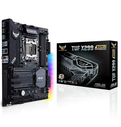 ASUS TUF X299 MARK 2,CPU Intel Core X-Series on LGA 2066 Socket,Intel X299, 8 x DIMM,