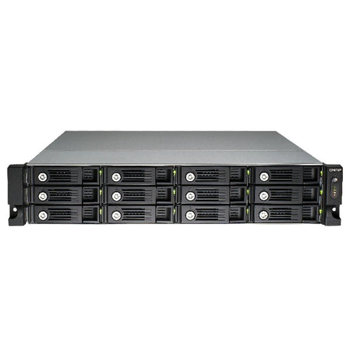 QNAP 2U 12-Bay iSCSI NAS, Intel Core i7 3.2GHz Quad Core, 32GB RAM, 4LAN, 10G-re TVS-1271U-RP-I7-32G-US - V&L Canada