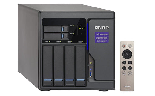 QNAP TVS-682 NAS Tower Ethernet LAN Black (TVS-682-I3-8G-US) - V&L Canada