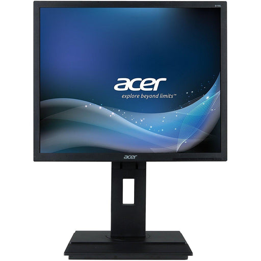 Acer B196l Ymdr-Epeat Gold 19in Monitor (1280x1024 100,000,000:1 Max (Acm)250 CD/M2 5ms), Black (UM.CB6AA.001) - V&L Canada