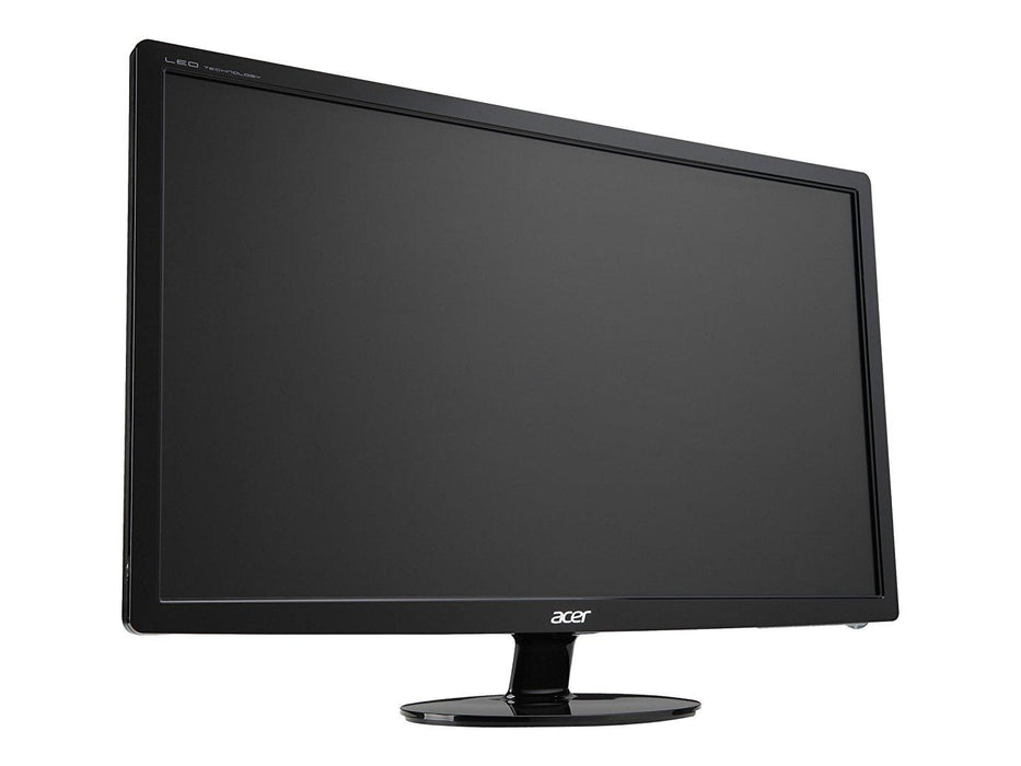 "Acer S1 S241HL bmid 24"" Full HD Black computer monitor (UM.FS1AA.001) - V&L Canada"