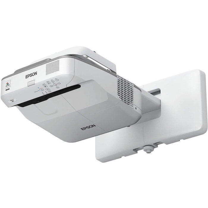 Epson PowerLite 680 Wall-mounted projector 3500ANSI lumens 3LCD XGA (1024x768) White data projector (V11H746620)