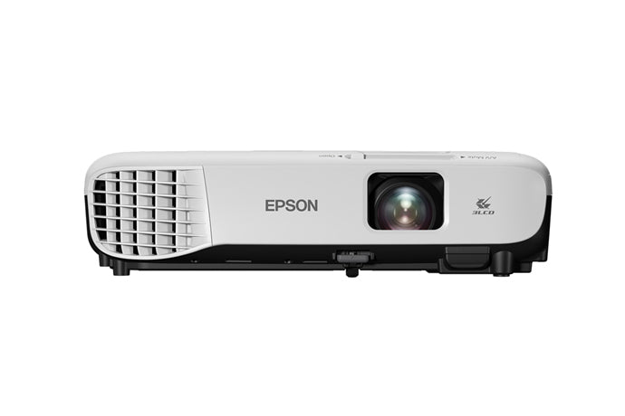 *Bundle Deal* Epson VS250 SVGA 3,200 Lumens Color Brightness HDMI 3-Chip LCD Projector(V11H838220) + Grandview Fantasy Series FA-P manual pull down screens, Aluminum casing,