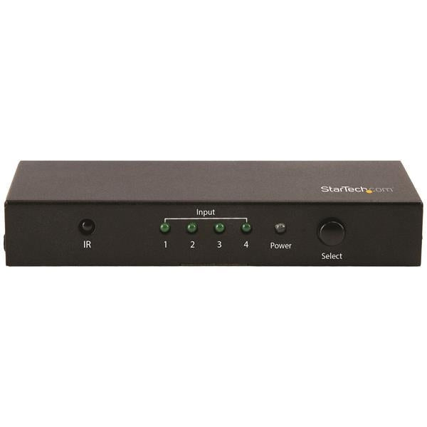 StarTech 4-Port HDMI Automatic Switch - 4K 60Hz (VS421HD20) - V&L Canada