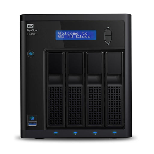 WD My Cloud Expert Series 24 TB 4-Bay Pre-ConfiguredNAS with Dual Core Processor (WDBWZE0240KBK-NESN) - V&L Canada