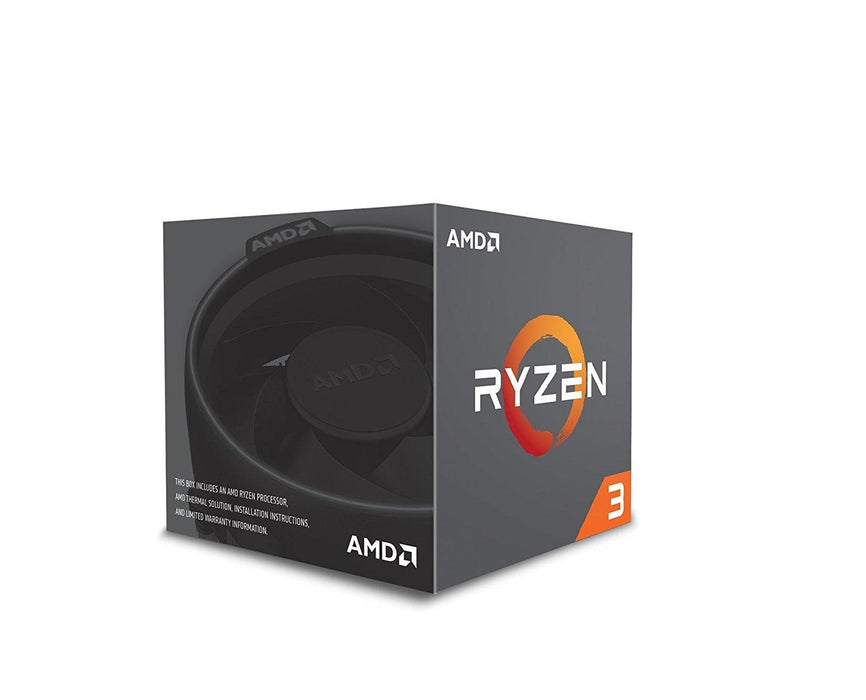 AMD Ryzen 3 1200 Desktop Processor with Wraith Stealth Cooler (YD1200BBAEBOX) - V&L Canada