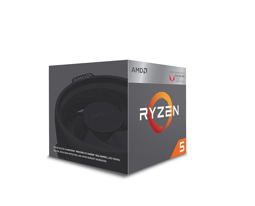 AMD Ryzen 5 2400G 3.6GHz 2MB L2 Box processor (YD2400C5FBBOX) - V&L Canada