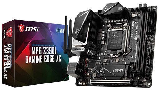 MSI MPG Z390I Gaming Edge AC motherboard LGA 1151 (Socket H4) Mini ITX Intel Z390 (Z390IEDGEAC)