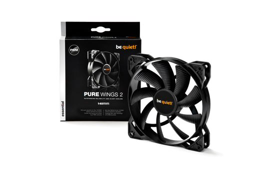 be quiet! BL040 Pure Wings 2 140mm PWM Case Fan - Black
